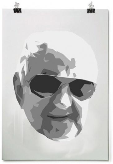 Beleonia #poster #grandpa #illustration #art