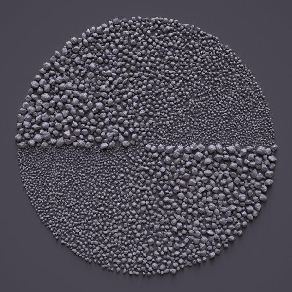 Stone Fields by Giuseppe Randazzo #generative #field #stone #fractal #art #3d