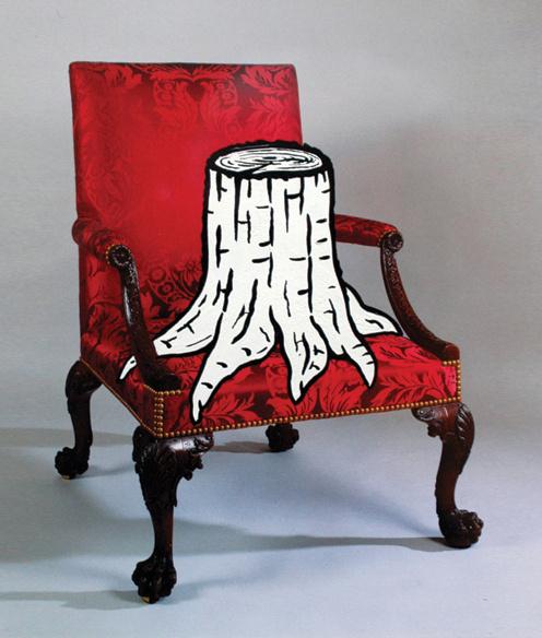 image #rob #tree #chair #illustration #mimesis #kesseler #art #collage