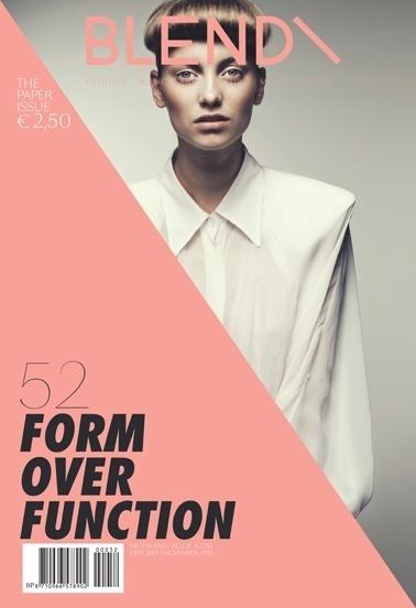 Graphic design inspiration #cover #magazine