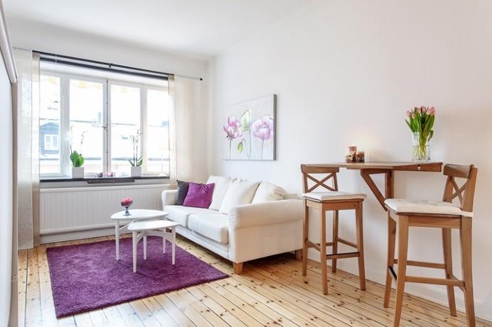 28 sqm studio in Stockholm