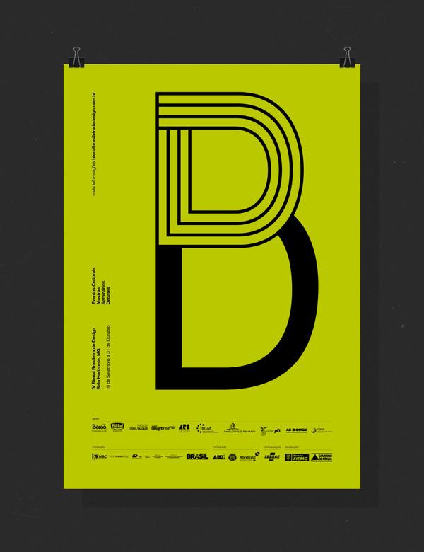 Bienal Brasileira de Design #lettering #print #design #belo #bienal #horizonte #poster #brazil #bh