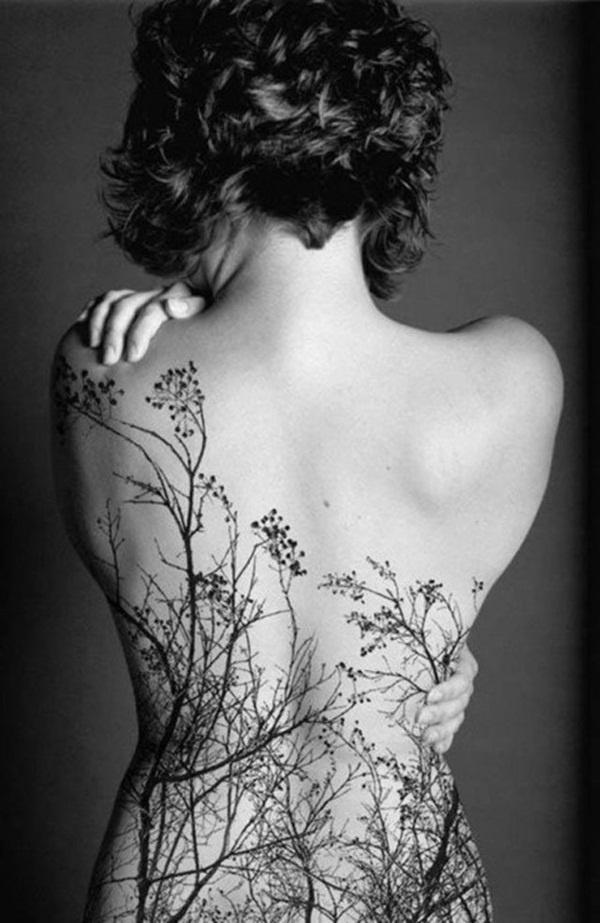 50 Awesome Tree Tattoo Designs #tattoo #designs #tree