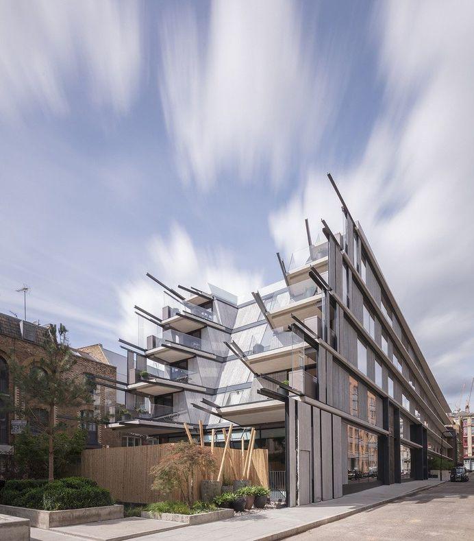 Nobu Hotel in London by Ben Adams Architects 1
