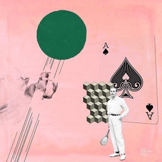 Tenez, Not Another Folio #tennis #card #design #graphic #ace #illustration #sport