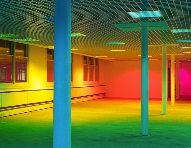 Colorful Light Installations by Liz West-4 #installation #colors #rainbow