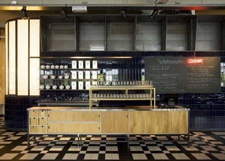 Dezeen » Blog Archive » Grand Cafe Usine by Bearandbunny #interior #netherlands #grand #design #cafe #architecture