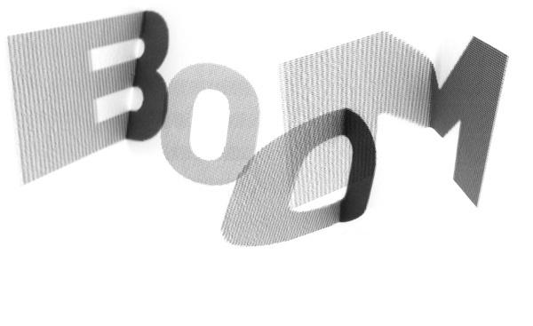 typography experiment [2] - michal veltruský #type #design #graphhic #typography