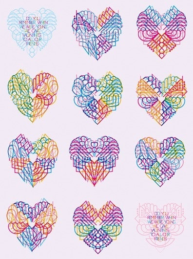 Valentines 2011 | Marian Bantjes #bantjes #valentines #card #design #marian #illustration #day