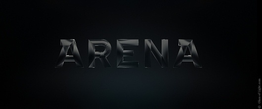 Glass of Light #black #glass #arena #type #typography