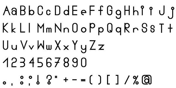 was siehst du? #serf #grotesk #typeface #sans