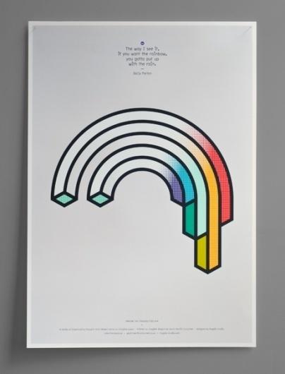 Magpie Studio #illustration #rainbow #impossible