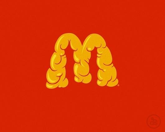 MSCED 2011 on the Behance Network #fat #logo #lovin #im