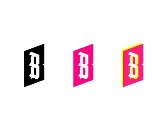 Logos : Alvin Diec #pink #logo