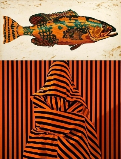 1983 · Did you catch that? Daily Design, Photography, Illustration #photography #pattern #fish #animals