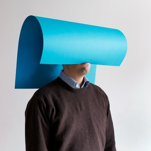 All sizes | cyan | Flickr - Photo Sharing! #cyan #strange #photography #portrait #paper