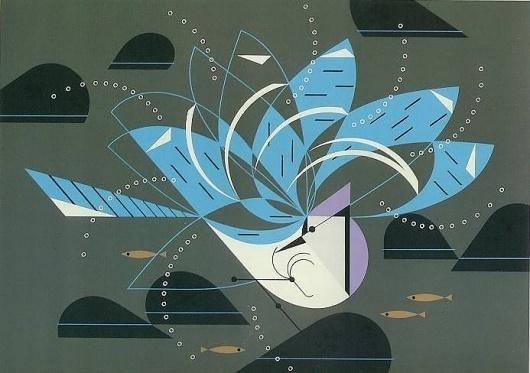 Charley Harper : onaime.ca #charley #illustration #harper #bird