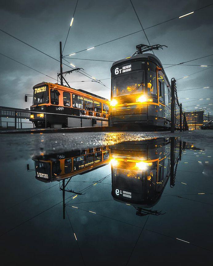 Stunning Street Photos of Helsinki by Charlie Featherlight