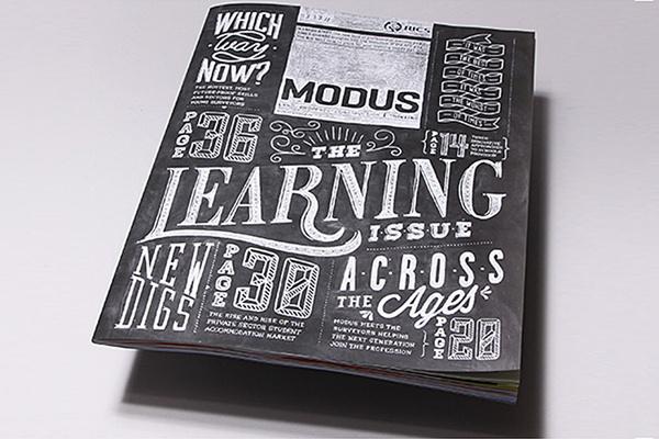 Modus Chalk Illustrative Type #design #book #chalk #cover #illustration #type #editorial #typography