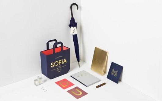 Anagrama   Sofia by Pelli Clarke Pelli Architects #branding