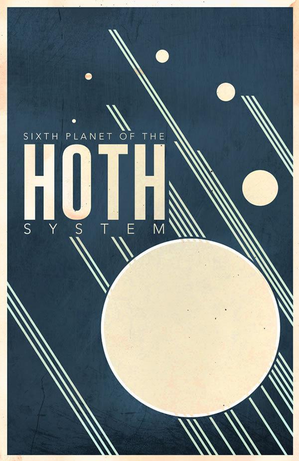 star_wars_poster_minimalist_travel_hoth #design #graphic #wars #star #poster