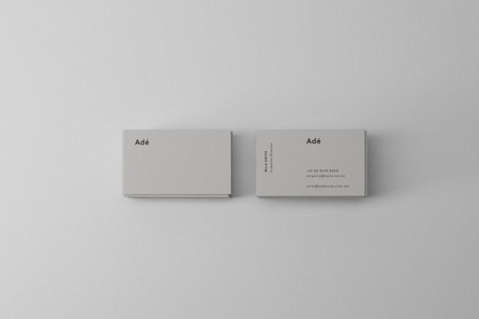 sorbet, stationery, letterhead, business card, compliment slip