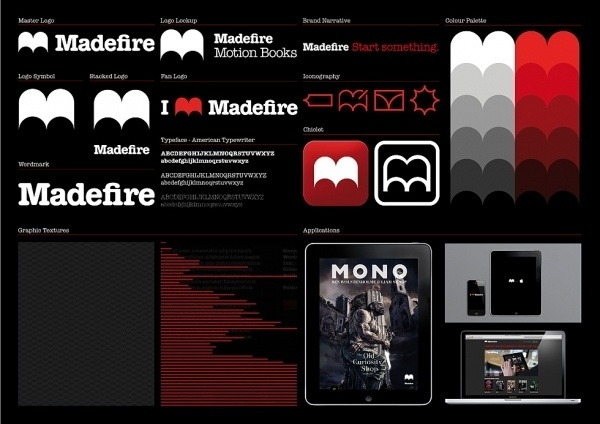 Madefire   Moving Brands - a global branding company #identity