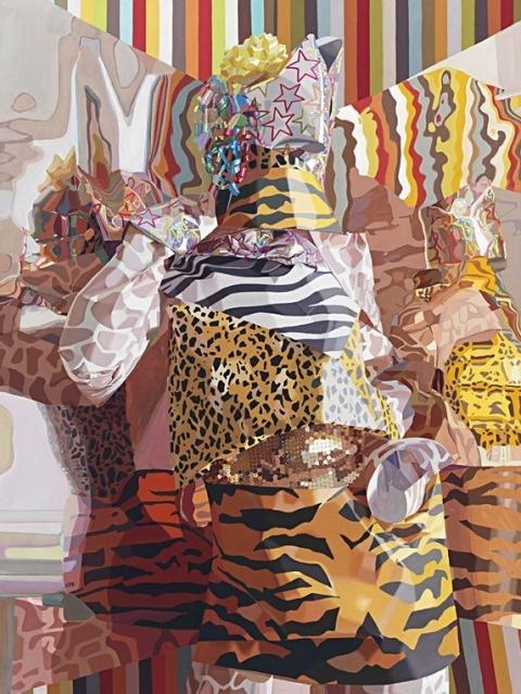 Celeste Rapone   PICDIT #pattern #design #color #painting #art