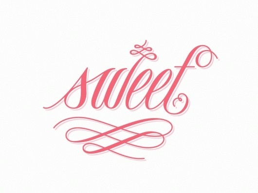 The Phraseology Project - sweet #inspiration #lettering #pink #design #illustration #type #typography