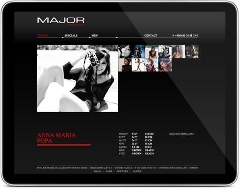 ID&CO: Eine Website schön wie ihr Inhalt #models #major #idco #frick #website #michael