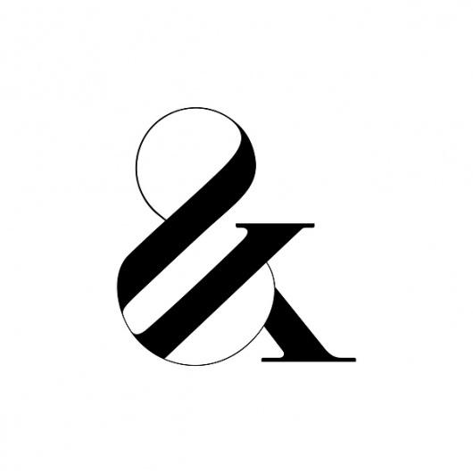 Paris Typface by Moshik Nadav | Trendland: Fashion Blog & Trend Magazine #ampersand #paris #typeface #black