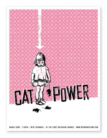 catpower.jpg (502×650) #screen print