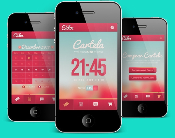 20 beautifully designed smartphone apps photo #interface