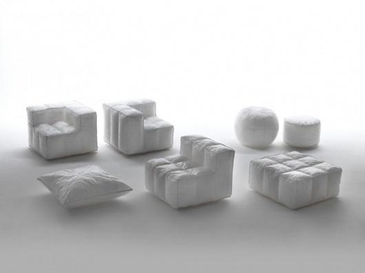 Modern Sofa Furniture Designs   Sofa Designs Photos   Small sofa Designs Ideas   Interior: March 2011 #mokup #sofa #white #design #blow #bag #light