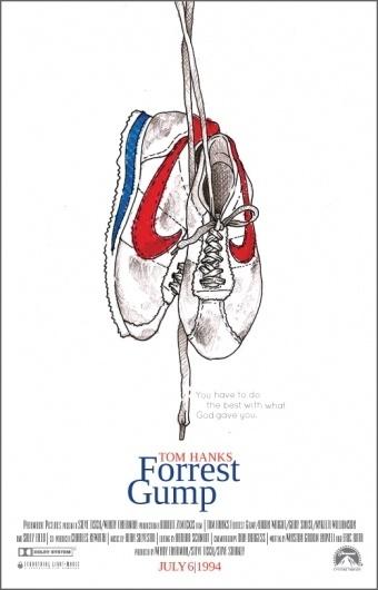 Movie Poster - ERICKMELENDEZ #gump #movie #forrest #poster