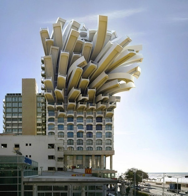 Crazy Architecture in Tel-Aviv by Victor Enrich #photo #tel #aviv #architecture #manipulation #israel