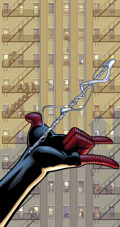 this isn't happiness™ photo caption contains external link #comic #illustration #spiderman
