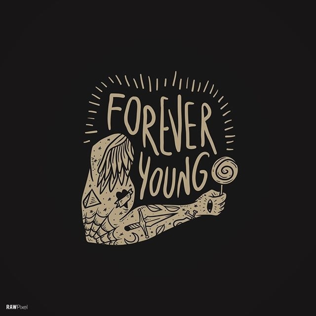 Because I am forever young.🍍🍍🍍 #Sample - To get this free image, visit Rawpixel.com #young #youngheart #iamyoung #awesome #graph