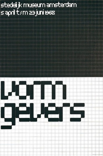 Wim Crouwel : Design Is History #grid #system #crouwel #wim #typography