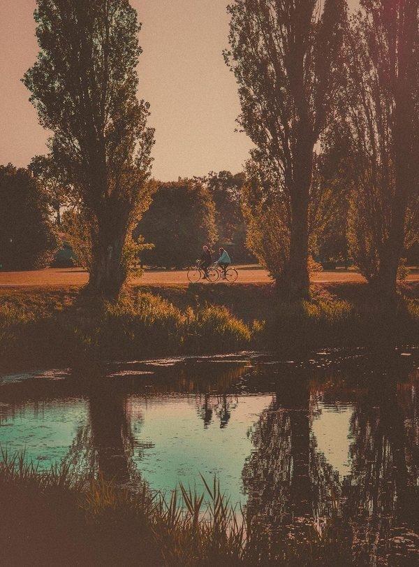 The Bike Tour #limited #sweden #edition #print #park #malm #biking #bike #tour