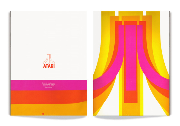 art of the arcade, Art of the Arcade, a site dedicated to showcasing the lost graphic design and illustration work from the golden era of vi #retro #atari #cover #video #collateral #game #brochure