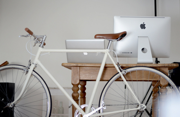 in the kitchen #white #in #office #the #kitchen #bike