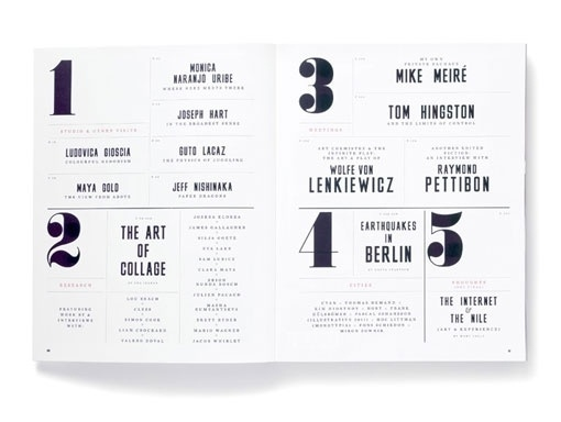 design work life » cataloging inspiration daily #editorial #awesome #typography