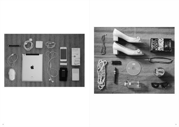 Unrape Magazine - photoshoot 3 #itens #neatly #photography #mmagazine #layout #organized