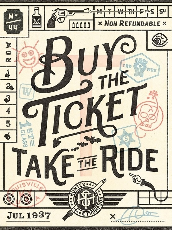 Typography / Wander Postcard by Commoner Inc. #type #design