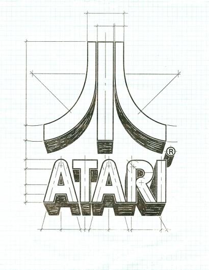 Friday find: Atari logo #logo #guidelines #atari