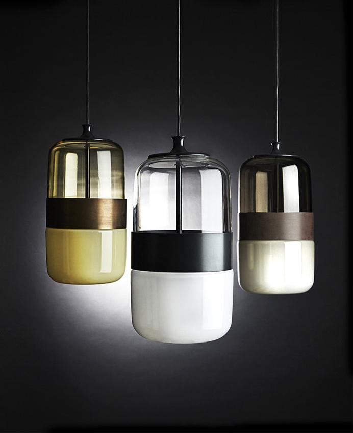 Three Color Futura Lamps