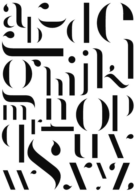 Benjamin Verlomme | Shiro to Kuro #typography