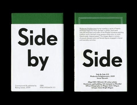 Side by Side, Raking Leaves | OK-RM #design #graphic #typography