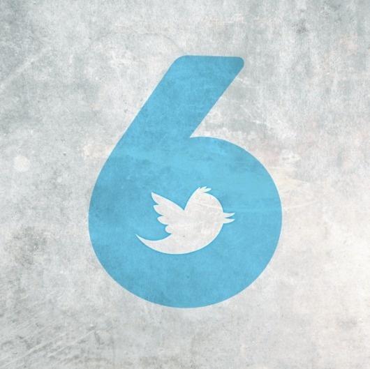 Happy Birthday TWITTER on the Behance Network #happy #birth #six #hasi #6th #prishtina #twitter #berin #day #kosova